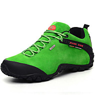 Men's Hiking Shoes Trail Running Shoes Suede Black / Brown / Green