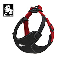 Cat / Dog Harness Adjustable/Retractable / Fashion / Padded / Breathable Black / Blue / Brown / Gray Nylon