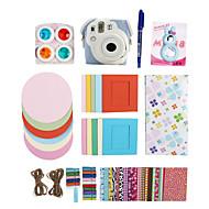 Fujifilm Instax Mini 8 Instant Photo Polaroid Camera Accessory Kit Gift Set (Mini Film Bag Sticker Filter Album)