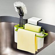 1 Κουζίνα Πλαστικό Ράφια & Στγρίγματα