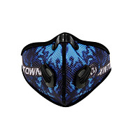 XINTOWN אופנייים/רכיבת אופניים מסכת פנים יוניסקס נושם / עמיד לאבק / עמיד / מגביל חיידקים ניילון / Chinlon אדום / אפור / כחול גודל חינם