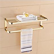 浴室棚 Ti-PVD ウォールマウント 23.2*8.3*7.9 inch 真鍮 モダン