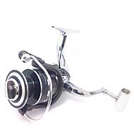 Full Aluminum Metal Reel 7000 Size 4.9:1 12+1 Ball Bearings Sea Fishing Freshwater Fishing Carp Fishing Reel