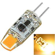 2W G4 Luminárias de LED  Duplo-Pin Encaixe Embutido 1 COB 100-200 lm Branco Quente / Branco Frio Decorativa AC 12 V 1 pç