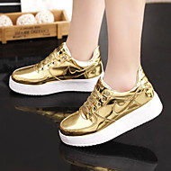 Women's Shoes Flange All Match Lace-up Low Heel Comfort / Round Toe Fashion Sneakers Outdoor / Casual