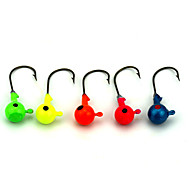 14Pieces Metal Baits Jigs Lead 7g Sinking Fishing Lures Random Colors