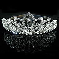 Mujer Diamantes Sintéticos / Cristal / Aleación Celada-Boda / Ocasión especial Tiaras 1 Pieza