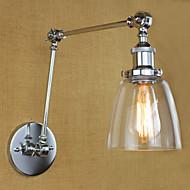 AC 100-240 40 E26/E27 Rustique/Campagnard Chromé Fonctionnalité for Ampoule incluse,Eclairage d'ambiance Eclairage avec Bras oscillant