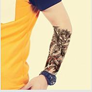 vanntett midlertidig tatoveringer stor arm falske overføring tatovering klistremerker sexy spray