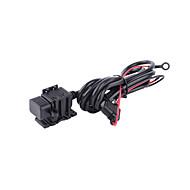 iztoss impermeable 12v 2.1a único puerto USB toma de corriente cargador móvil