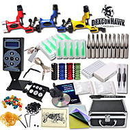 Große Tattoo Kits 3 Drehmaschine New Design Power Box