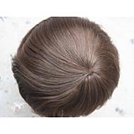 niewykrywalne bardzo cienka skóra męska peruka pełna peruka pu dla mężczyzn 8x10 V - zapętlony systemu Treska