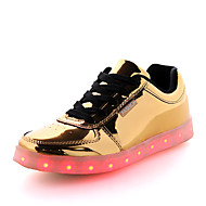 Men's Shoes Outdoor / Casual / Athletic Leatherette Fashion Sneakers Silver / Gold