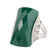 Veliki modni prsten Vintage / Slatko / Zabava / Posao / Ležerne prilike (Legure / Štras / Drago kamenje i kristali / Umjetni biser /