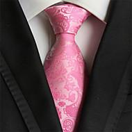Галстук (Розовый , Полиэстер) Узор