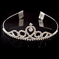 Bridal Wedding Princess Pageant Prom Crystal Tiara Crown Headband