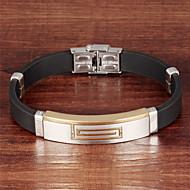 Armbänder ( Vergoldet / Leder / Titanstahl Vintage / Niedlich / Party / Büro / Freizeit