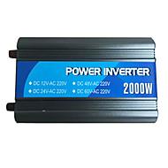 puissance 2000w onduleur 12V24V à 220v avec usb