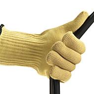 hochwertige Beständigkeit gegen hohe Temperaturen von 500 ° Gartenhandschuhe verhindern Schneiden (2 / Set)