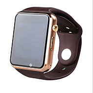 W8 bluetooth 3.0a1 smartwatch carte de téléphone mobile quasi gps positionnement micro ch push