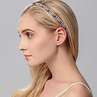 Women's Rhinestone Headpiece-Wedding / Special Occasion / Casual / Office & Career / Outdoor Headbands 1 Piece Silver / Blue / Red