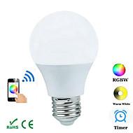 4W E26/E27 Ozdobná světla B 1 COB 300-3600 lm R GB Bluetooth AC 100-240 V 1 ks