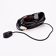 iztoss off road ATV / jeep levou luz cablagem barra - 40 relé amp interruptor on / off