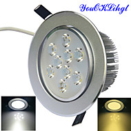 YouOKLight® 1PCS 9W Dimmable 3000K/6000K 900lm Warm White/Cool White  LED Ceiling Light Lamp (AC110-120/220-240V)