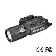 Lights LED Flashlights/Torch LED 500 Lumens 1 Mode Cree CR123AWaterproof / Impact Resistant / Nonslip grip / Tactical / Emergency / Small