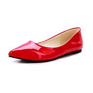 Черный / Желтый / Зеленый / Красный / Миндальный / Тёмно-синий - Женская обувь - Для офиса / Для праздника / На каждый день -Лакированная