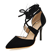 Women's Shoes Customized Materials Stiletto Heel Heels / Pointed Toe Heels Wedding / Office & Career / Party