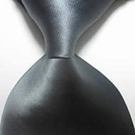 Jednobarevné-Kravata(Šedá,Polyester)