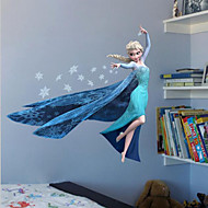 Cartoon Film Elsa Anna Olaf Hans Home Decals Children Girls Mural Art