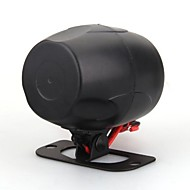 Universal Car Auto Van Bike Alarm Warning Siren Horn 12V Dc Black