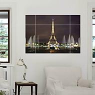 ארכיטקטורה / אנימציה / רומנטיקה / צבא / אופנה / חג / נוף / צורות / תחבורה / פנטזיה / 3D מדבקות קיר מדבקות קיר תלת מימד,PVC100cm x 70cm (
