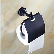 トイレットペーパーホルダー アンティークブラス ウォールマウント 6.4*3.3*6.2 inch 真鍮 アンティーク