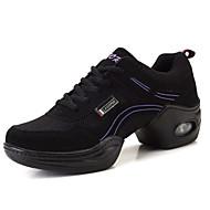 Sapatos de Dança(Roxo / Vermelho / Dourado) -Feminino-Não Personalizável-Tênis de Dança