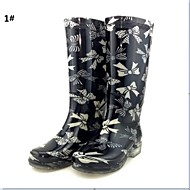 Women's Spring / Summer / Fall / Winter Rain Boots Silicone Outdoor Flat Heel 2# / 1#
