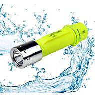 Iluminação Lanternas LED LED 500 Lumens 1 Modo - AA Prova-de-ÁguaCampismo / Escursão / Espeleologismo Uso Diário Mergulho / Náutica Caça