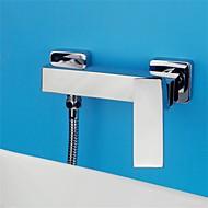 pieno di rame doccia calda e fredda del rubinetto