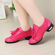 Sapatos de Dança(Preto / Azul / Rosa) -Feminino-Não Personalizável-Tênis de Dança
