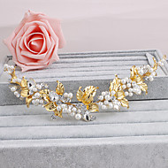 Women's Pearl Headpiece-Wedding Special Occasion Casual Office & Career Outdoor Headbands 1 Piece