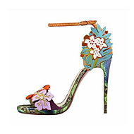 Women's Shoes Leatherette Stiletto Heel  Open Toe Sandals Party & Evening / Dress Multi-color