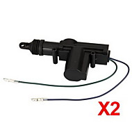 2 Universal Heavy Duty Power Door Lock Actuator Motor 2 Wire 12V