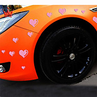 Reflective Romantic Love Personality Car Stickers(15pcs/set)
