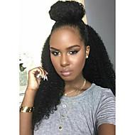 pelucas asequibles sin cola 8a o de encaje completo en American rizada rizada brasileña remy virginal del pelo humano pelucas africanas