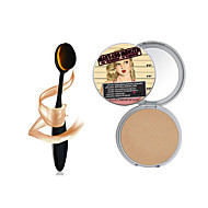 1PCS Makeup Mary-Lou Manizer Bronzer & Highlighter Cosmetics +1PCS Masterclass Oval Foundation Makeup Brush