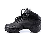Sapatos de Dança(Preto) -Feminino / Masculino-Personalizável-Tênis de Dança / Moderna