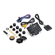 auto Steelmate TPMS dvd tp-05E con sistema wireless esterna del pneumatico sensore di monitoraggio della pressione