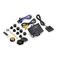 steelmate 차 무선 외부 센서, 타이어 압력 감시 시스템 TP-05E DVD를 TPMS